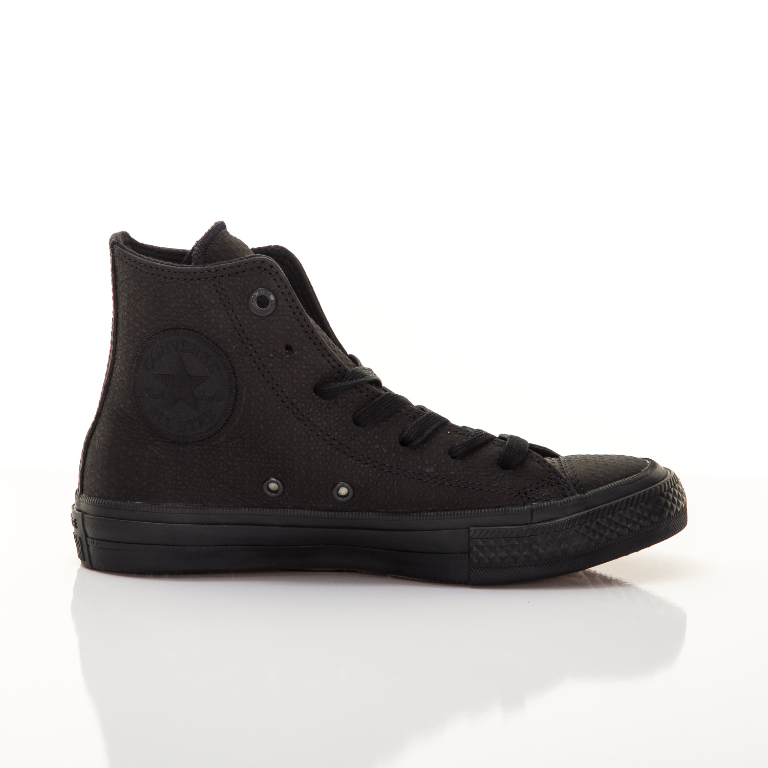 Unisex Tenisky Converse Chuck Taylor All Star II Lux Leather High Top Black 39.5