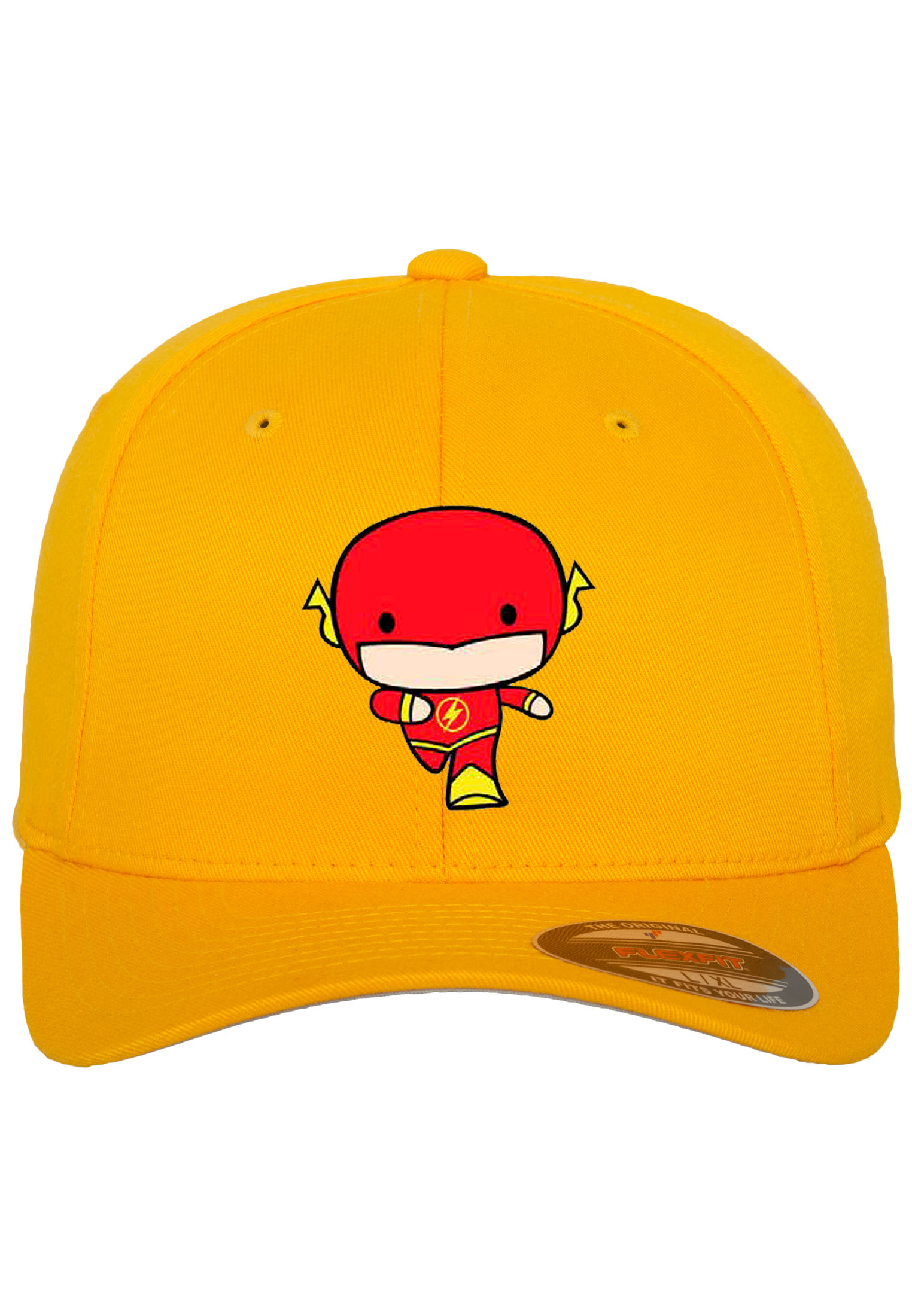 Pánska žltá šiltovka Merchcode Flash Comic Flexfit Cap L XL 024dc83664