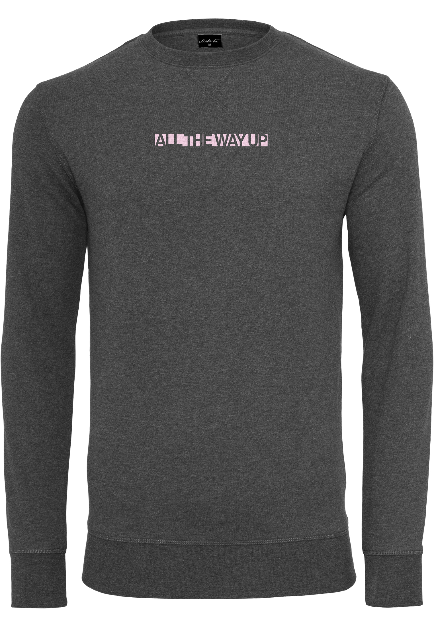 Crewneck Mister Tee All The Way Up Charcoal L