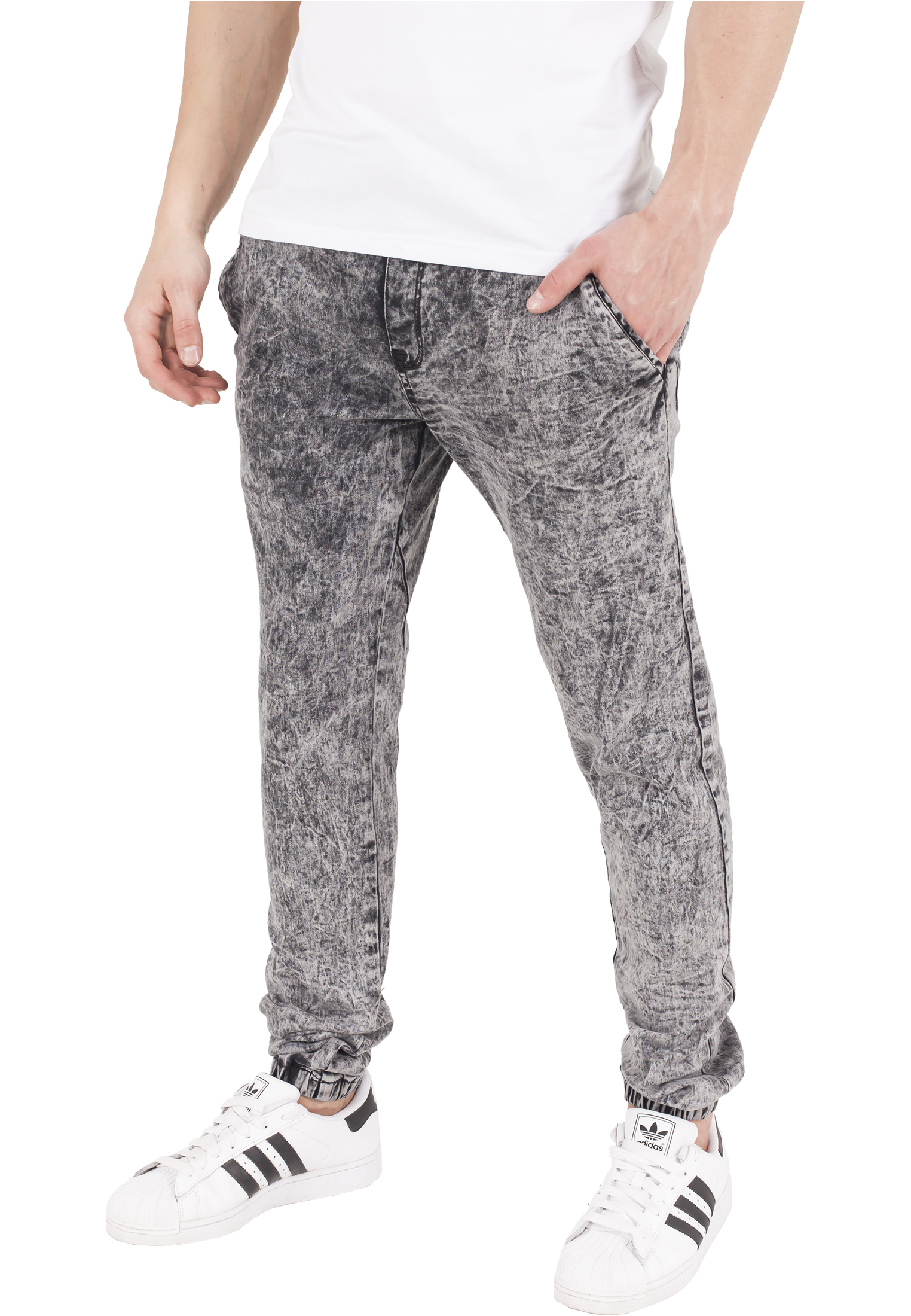 438bc3d8204e Nohavice Urban Classics Stretch Jogging Grey 2XL