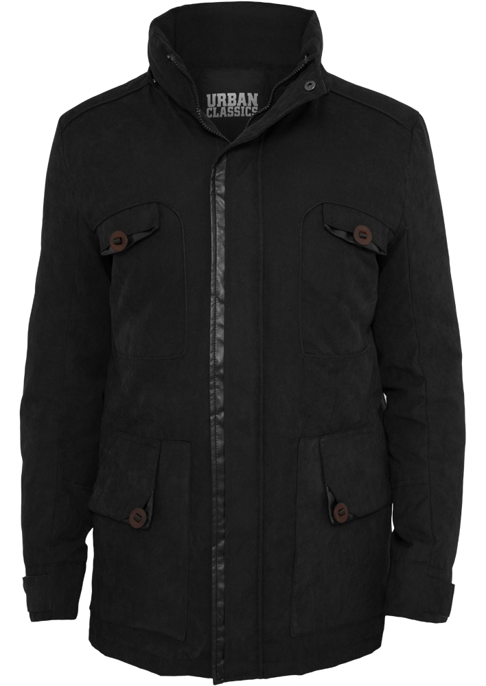 Bunda Urban Classics Down Parka Black M